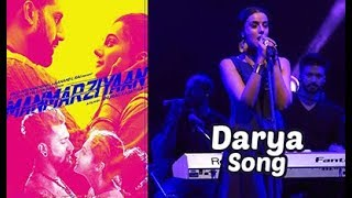 Darya Song - Manmarziyaan | Manmarziyaan Music Concert At N M College Festival | Chillx Bollywood