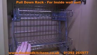 Pull Down Rack - Pull Down Kitchen Shelves