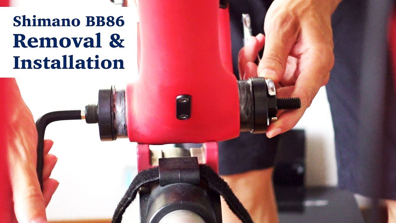 Shimano Pressfit Bb86 Bottom Bracket Removal And Installation How To Tutorial