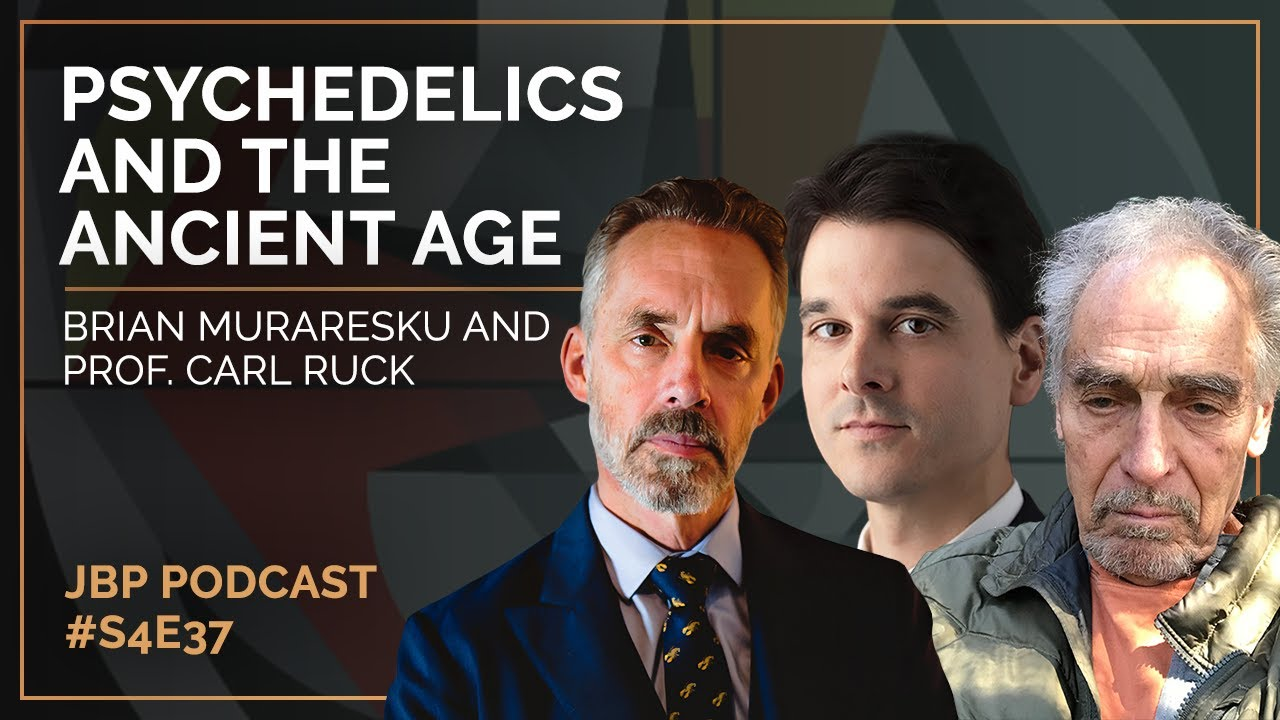 The Immortality Key; Psychedelics and the Ancient Age | Brian Muraresku & Prof. Carl Ruck | S4: E37