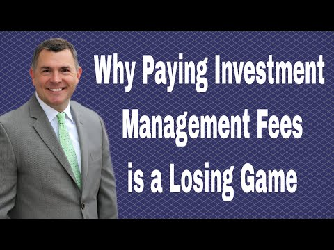 Why Paying Investment Management Fees is a Losing Game