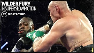 The Wilder v Fury fights are even better in super slow motion 😍