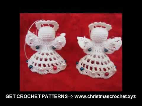 Crochet Christmas Decorations Free Patternscrochet Diy Youtube
