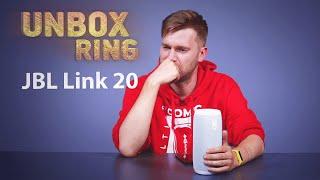 GERIAUSIA NEŠIOJAMA SMART KOLONĖLĖ???   JBL Link 20   Unbox Ring apžvalga