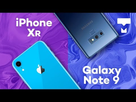 Comparativo: iPhone Xr vs. Galaxy Note 9 - TecMundo