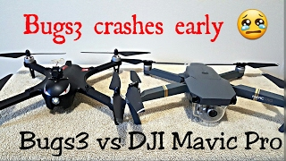 MJX BUGS 3 VS DJI MAVIC PRO SPEED RUNS