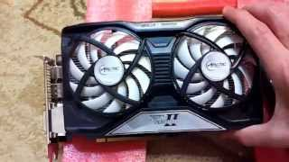 """Arctic Cooling Accelero Twin Turbo II"" + ""GeForce GTX570 Golden Sample GLH"""