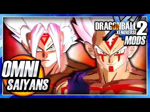 Dragon Ball Xenoverse 2 PC: Super Saiyan Omni Goku Vs Omni Vegeta DLC (Omni SSJ) Mod Gameplay