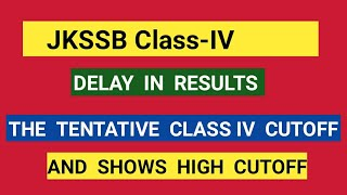 JKSsB  Tentative Cut off/ As per This Cutoff very High