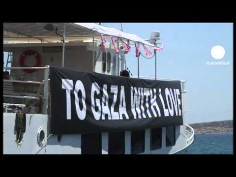 Pro-Palestinian activists attack US stance on Gaza ships