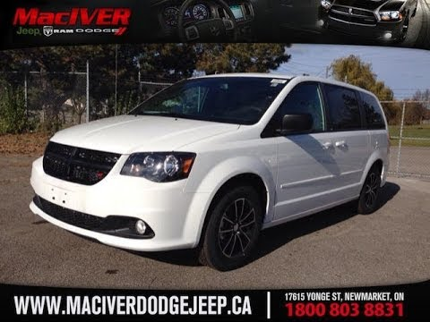 2014 Dodge Grand Caravan Sxt Plus Black Top Edition