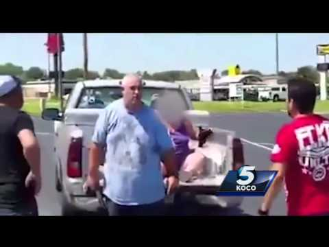 Caught on Camera: Witnesses record alleged abuse in northwest Oklahoma City parking lot