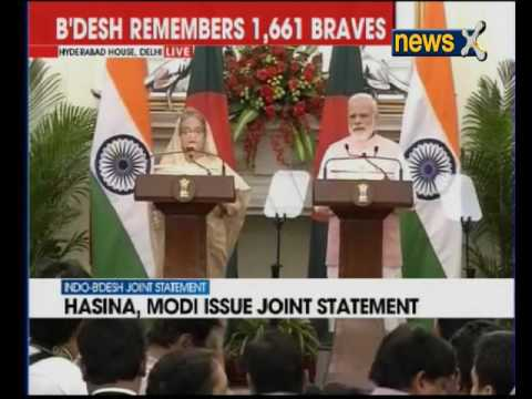 India and Bangladesh sign 22 MoUs — cooperation in combating terror to be main focus