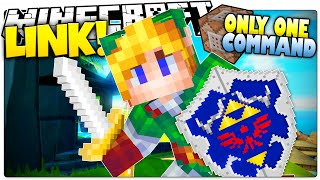 Minecraft | LINK! | Master Sword, Time Bombs & More! | Legend of Zelda (Minecraft Custom Command)