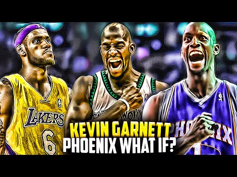What If - Kevin Garnett Was TRADED To The Suns! New LeBron James Free Agency Decision?