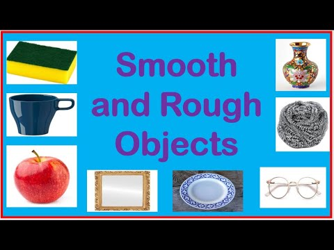 Download Smooth and Rough Objects  Science Lesson in Kindergarten