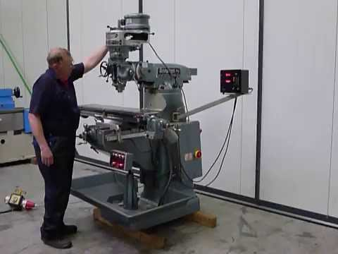 Bridgeport Mill For Sale >> Bridgeport Brj Milling Machine For Sale On Www Mach4metal Com Youtube