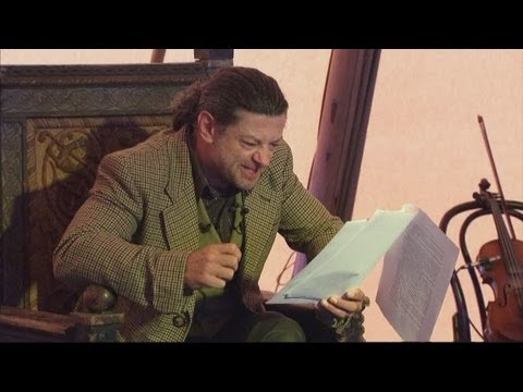 Thumbnail: Andy Serkis reads The Hobbit as Gollum on stage