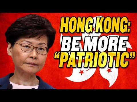 """China Orders Hong Kong to be More """"Patriotic"""""""