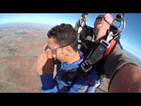 watch14000 feet Tandem skydive at York, Western Australia- zaher Mohammed