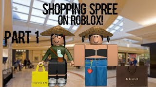 Going On A Shopping Spree On ROBLOX | PART 1 (I spent 400+R$)