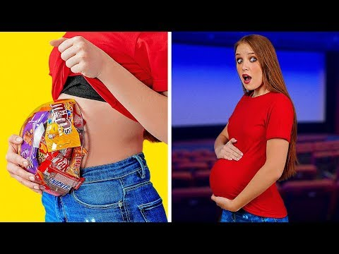 GENIUS FOOD HACKS AND FUNNY TRICKS || DIY Food Tips and Life Hacks by 123 GO!