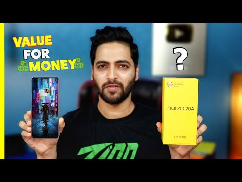 realme Narzo 20A - Unboxing & Hands On   Paisa Wasool