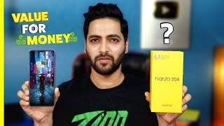 realme Narzo 20A - Unboxing & Hands On | Paisa Wasool