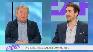 Myopie: lentilles, lunettes ou chirurgie?