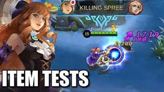 MS VIOLET'S ITEM TESTS?!