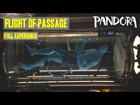 Flight Of Passage Full Experience Pandora: The World Of Avatar at Disney's Animal Kingdom