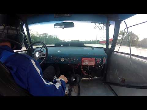 78 Malibu Drag Car in car camera
