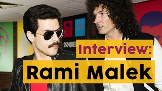 Rami Malek lief als Freddie Mercury durch London | INTERVIEW