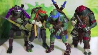 tmnt shell shocked stop motion   teenage mutant ninja turles movie action figures