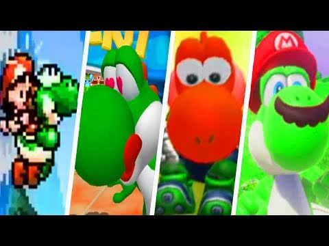 Evolution of Yoshi's Voice in Super Mario Games (1990 - 2018)