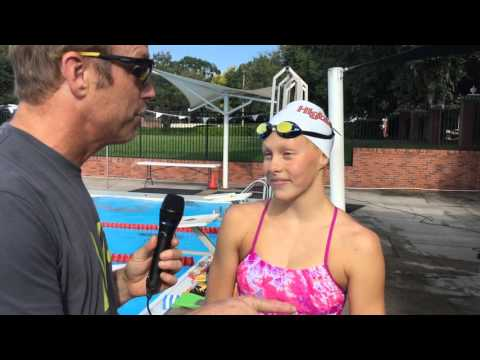 Highlander Aquatics Swimmer Paige Hamilton