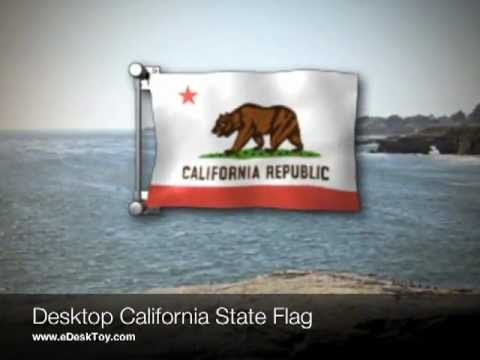California State Flag Gadget for Mac and Windows