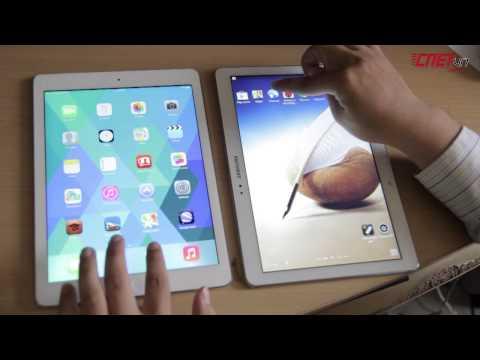 [CNETVN.COM] Trải nghiệm và So sánh Samsung Galaxy Note 10.1 với iPad Air
