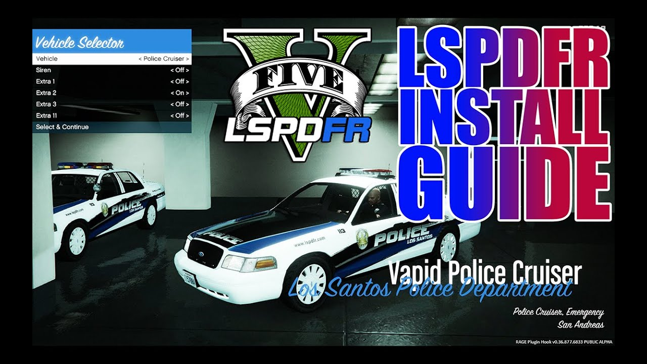 Video - LSPDFR - GTA 5 - Simple How-To Install Guide | Wikitubia