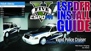 LSPDFR - GTA 5 - Simple How-To Install Guide