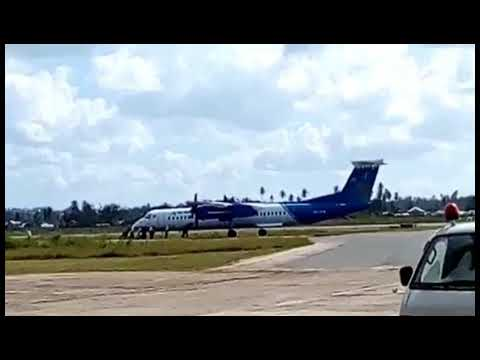 Undani  Ndege Air Tanzania Kusukumwa Airport