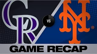 Desmond, Story homer in Rockies' 9-4 win | Rockies-Mets Game Highlights 9/16/19