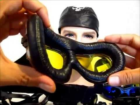 BikerArmour Motorcycle Goggle Review by Bikershades.com