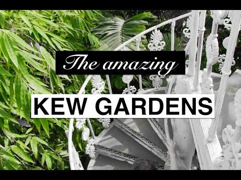 Kew Gardens London Botanic Garden || Things to do in London|| Day In London Series