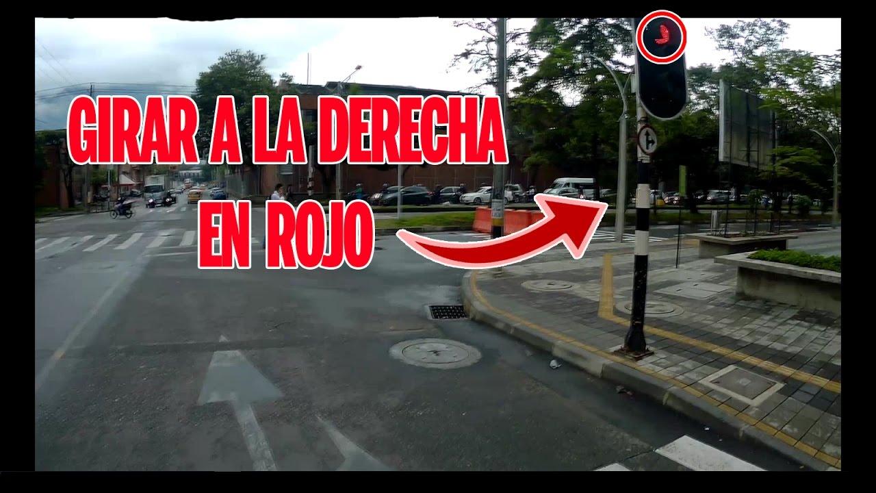 Risultati immagini per semaforo rojo vuelta a la derecha