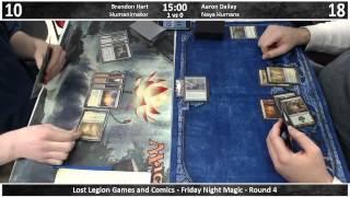 Lost Legion Fnm - 2/8/13 - Round 4