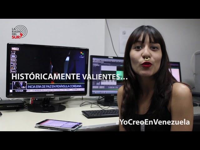 Sharon Lara se suma a la campaña #YoCreoEnVenezuela