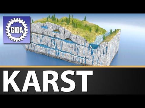 GIDA - Karst - Geographie - Schulfilm - DVD (Trailer)