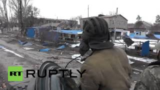ukraine watch dnr fighters tow t 72 tank near surrounded debaltsevo