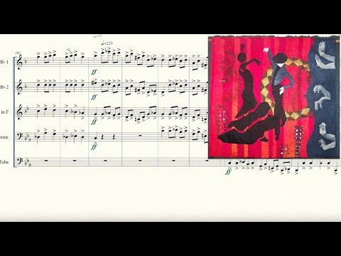 Malagueña for Brass Quintet Sheet Music